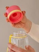 EKO plastová láhev EQUA Flamingo 400 ml
