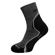 Ponožky FLORES Outdoor - černá