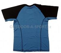 Pánské merino triko DIRECT ALPINE Furry - petrol/black