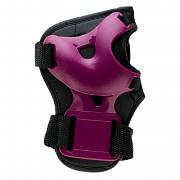 MARTES Garda Girl Protector Set - black/magenta purple