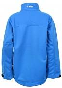 Dětská softshellová bunda HI-TEC Grot Kids - scruba blue