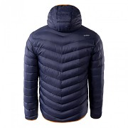 Pánská zimní bunda HI-TEC Salrin - evening blue/grenadine orange