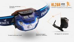 FENIX HL26R - modrá