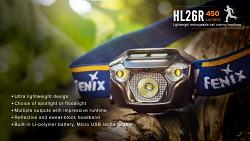 FENIX HL26R - žlutá