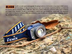 FENIX HL40R - modrá