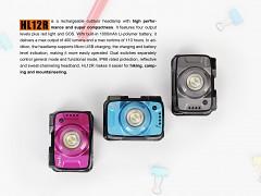 FENIX HL12R - fialová