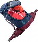 Turistický batoh DEUTER Trail PRO 34 SL - midnight/maron