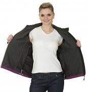 Dámská softshellová bunda HUSKY Ereen - fialová