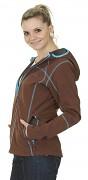 Dámská softshellová bunda HUSKY Andeen - hnědá