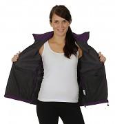 Dámská softshellová bunda HUSKY Becka - fialová
