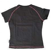 Dámské triko HI-TEC Rakaia W - dark grey