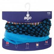 Tubus - dětský multifunkční šátek BEJO Alper JR - blue square print