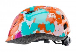 Dětská helma IQ Inkblot - peach/splatter print