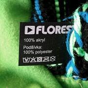 Chlapecká čepice FLORES Kenai Kids Reflex - zelená