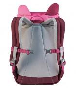 Dětský batoh DEUTER Kikki 8 l - hotpink/maron