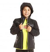 Dětská softshellová bunda ALPINE PRO Martine - černá