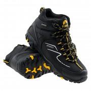 Pánská obuv ELBRUS Maash Mid WP - black/radiant yellow