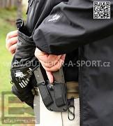 Taktická bunda MAGNUM Sparta - boční zipy pro přístup k materiálu
