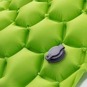 Nafukovací karimatka HI-TEC Airmat - green