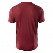 Pánské triko HI-TEC Clor - pomegranate
