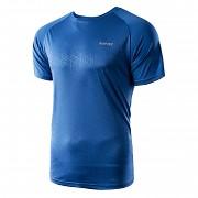 Pánské funkční triko HI-TEC Deran - victoria blue