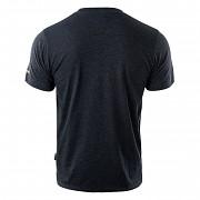Pánské triko HI-TEC Hoof - dark grey melange