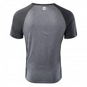 Pánské funkční triko HI-TEC Keno - ebony melange