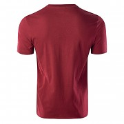 Pánské triko HI-TEC Rone - merlot