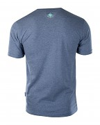 Pánské triko ELBRUS Surgens - dark blue melange