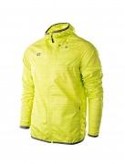 Pánská běžecká bunda IQ Korne - lime punch