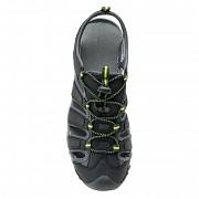 Pánské outdoorové sandále HI-TEC Eritio - black/lime
