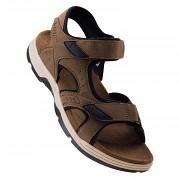 Pánské sandále HI-TEC Lucibel - dark brown/black