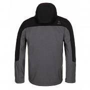 Pánská softshellová bunda KILPI Elio-M tmavě šedá