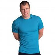 Pánské fukční triko PROGRESS MS NKR - tyrkysová