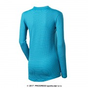 Dámské funkční triko PROGRESS MS NDRZ - tyrkysová