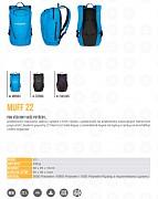 Městský batoh HUSKY Muff 22 l - katalogový list