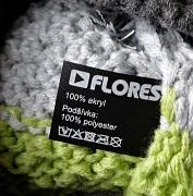 Unisex čepice FLORES Nome - zelená