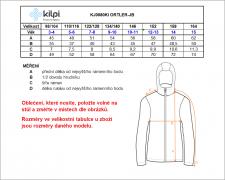 KILPI Ortler-JB - modrá