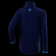 Dětský pulovr KLIMATEX Dashi - tm. modrá/sv. tyrkysová