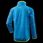 Dětský svetr KLIMATEX Sem - modrá/žlutá neon