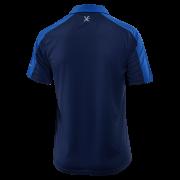 Pánská polokošile KLIMATEX Caber1 - tm. modrá/modrá