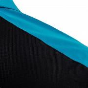 Pánská polokošile KLIMATEX Caber1 - černá/tyrkysová