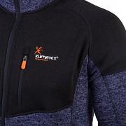 Pánský outdoor svetr KLIMATEX Vencel - navy/černá