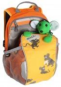 Dětský batoh BOLL Bunny 6 l - dutch blue - zobrazení detailů žlutého provedení