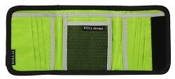 Peněženka BOLL Tri-Fold Wallet - black/lime