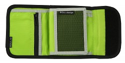 Peněženka BOLL Deluxe Wallet - black/lime