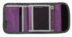 Peněženka BOLL Deluxe Wallet - salt&pepper/lilac