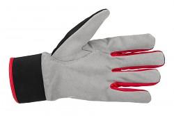 PROMACHER Carpos Velcro Gloves - grey-red