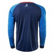 Brankářský dres HUARI Nueva Senior Blouse GK - medieval blue/blue/red