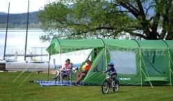 Stan HUSKY Caravan 22 - možnost připevnění přístřešku Caravan shelter